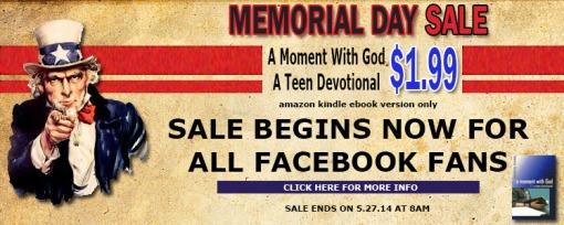 Memorial Day Sale Promo 2